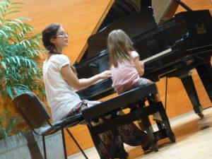 Una Audición de Piano